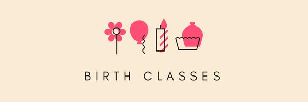 birth classes banner