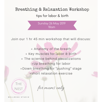 breathe relax workshp